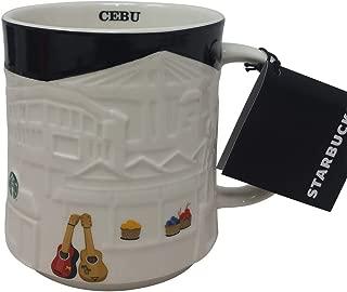 Starbucks Philippines You Are Here Collection Mug- Philippine Cities (Cebu, Relief Mug)