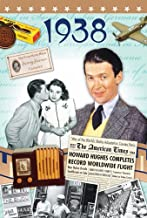 1938 Birthday Gifts - 1938 DVD Film and 1938 Year Greeting Card