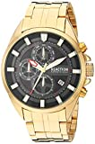 Kenneth Cole New York Male Quartz Watch with Stainless Steel Strap, Gold, 22 (Model: RK50862001)
