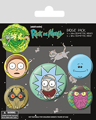 Rick & Morty - Badge Pack