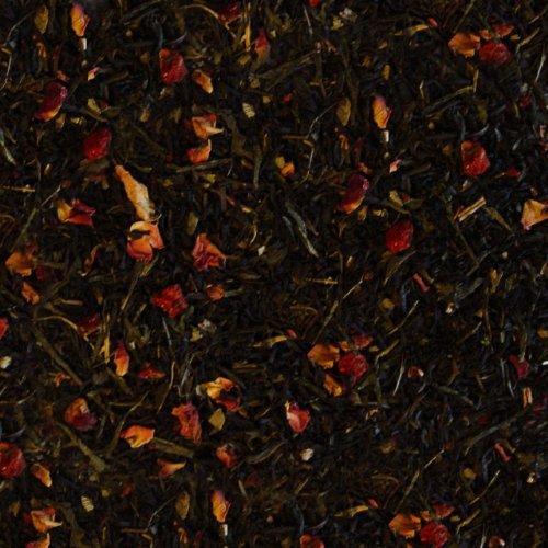 Schwarzer Tee lose Erdbeer-Sahne Traum Grüner Tee, Erdbeer, Rosenblüten, Erdbeerblätter Schwarztee 500g