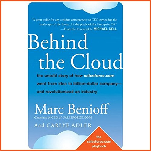 Behind the Cloud audiobook cover art