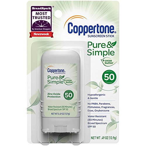 Coppertone Pure & Simple Spf 50 Stick Sunscreen For Just $0.95-$1 Shipped From Amazon!