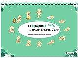 babylogbuch twins - unser erstes Jahr - inkl. Aufkleberset - Baby-Kalender/Baby-Tagebuch - Geschenk