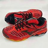 XIANGYANG Chaussures de Volley-Ball, Chaussures de Volley-Ball Professionnelles Chaussures de Badminton légères Chaussures de Sport Multi-fonctionnelles,43