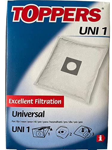 Toppers UNI1 2687200001 - Bolsas universales para aspiradora
