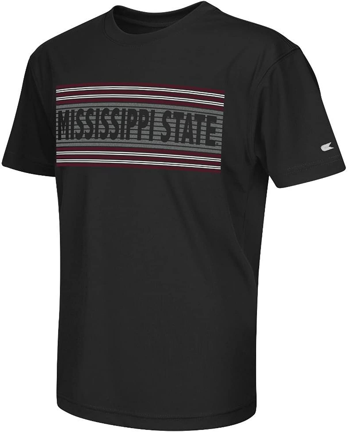 Youth NCAA Mississippi State Bulldogs Short Sleeve Tee Shirt (Team color)