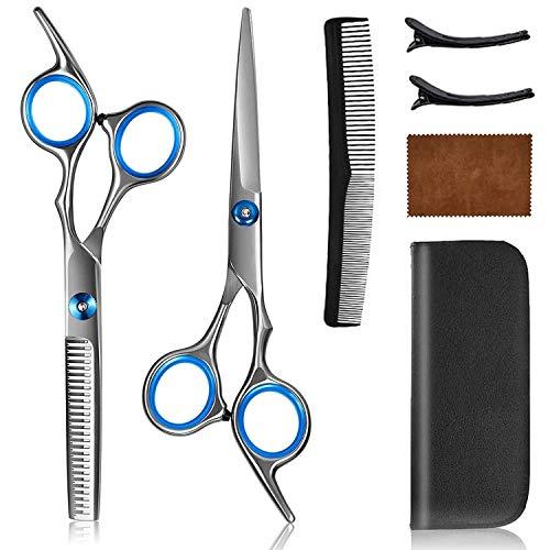 Haarschere Set 2 Extra Friseurscheren scharfer und präziser Schnitt,...