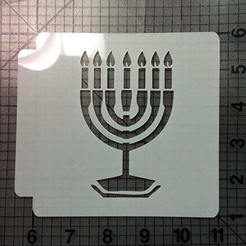 Hanukkah Stencil 100 (3 Inches)