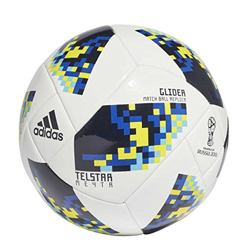 Adidas World Cup Knock Out Glide calcio, Uomo, Pallone, CW4688, bianco, S