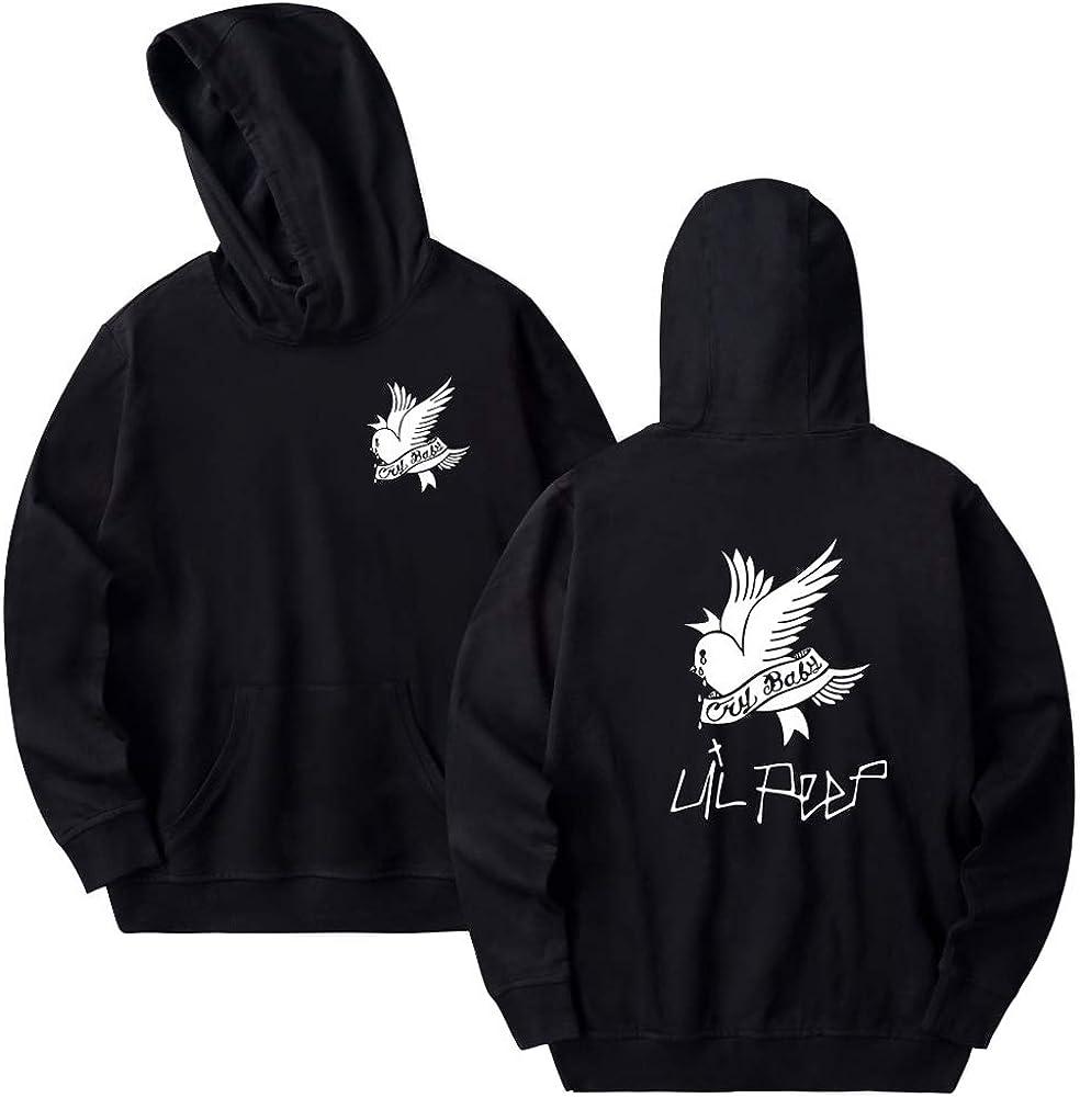 Kigcos LiPeep Unisex Fashion Print Hoodie Sweatshirt Tops