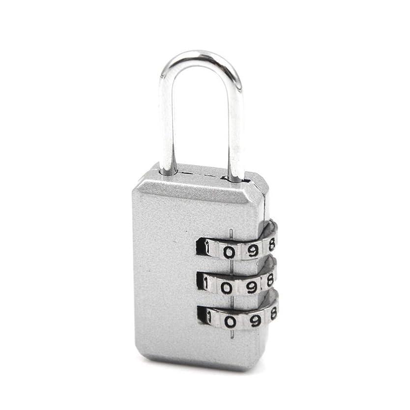 うるさい供給将来の南京錠シリンダーロックデッドボルト3834ピースプッシュボタン自動スプリングラッチドアボルト自己弾性ロック3桁ジムロッカー小屋