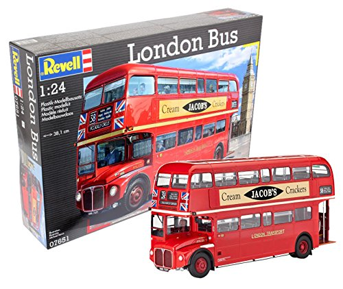 Revell Maqueta London Bus, Kit Modelo, Escala 1:24 (07651)