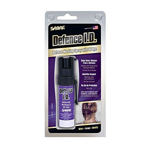 Spray de défense SABRE USA 19 ml (Buse De Projection Max Power) N°1 USA