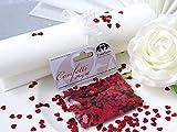 Einssein 14g Confeti de Estrella Corazón ca. 1.400 piez. 0,5cm Rojo Brillo metálico Decoracion Boda Dorado Corazones Plateado Confetti Papel de Seda onzas de Plata Globos de Amor navidas Onza Redondo