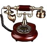 Antikes Festnetztelefon - Tastentelefon - Retro Telefon Mit Schnur - Retro Dekoratives Telefon - Festnetz- Und Bürotelefon Für Den Heimgebrauch, Eine Vielzahl Von Stilen Zur Auswahl