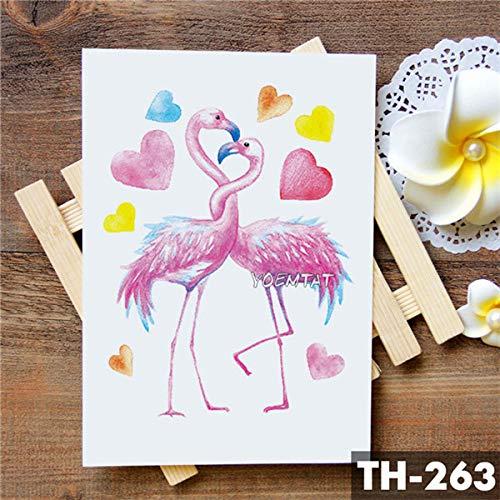 5Pc-Amore Corona Rosa Blu Giglio Fiore Autoadesivo Del Tatuaggio Impermeabile Piccione Angelo Braccio Tatuaggi Body Art Tatuaggi Tatoo-In Da 25-Th-263
