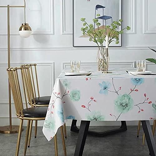sans_marque Paño de mesa, anti-derrame y anti-pliegue cubierta de tabla suave, utilizado para la decoración de mesa de la cocina 140* 140cm
