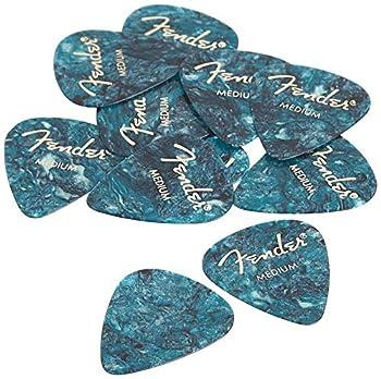 fender guitar picks medium
