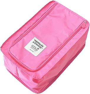 Portable Travel Shoe Bag, Lightweright Luggage Shoe Bag Organizer Pouch with Mesh Pocket