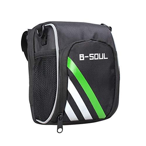 SHIZIZUO B-SOUL M365 - Bolsas de bicicleta para manillar de bicicleta eléctrica
