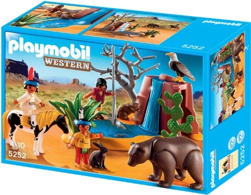 Playmobil 5252 - Indianerkinder mit Tieren