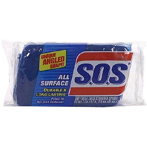 Clorox S.O.S. All Surface Scrubber Sponge 91017