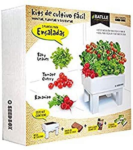 Semillas Batlle 160118UNID Seed Box Ensaladas, 16x2x11 cm