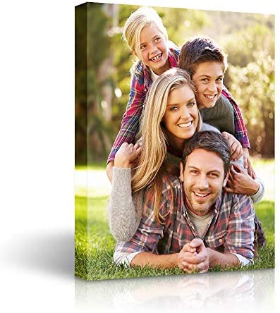 Personalized Canvas Wall Art Custom Prints with Your Photos on Canvas 11x14 inches product image