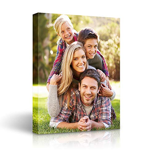 Personalized Canvas Wall Art Custom Prints with Your Photos on Canvas - 11x14 inches