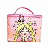 Kerr's Choice Toiletry Bag Kawaii Makeup Bag Makeup Organizer Cute Cosmetic Bag Pink Toiletry Bag for Girls Women