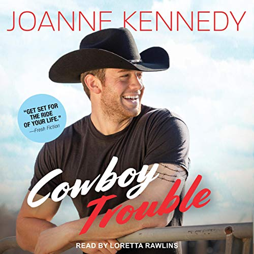 Cowboy Trouble audiobook cover art