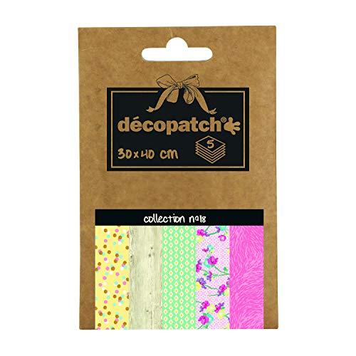Decopatch–Papel de bolsillo colección nº 18