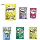 Catisfactions Snack per Gatto, 6 gusti diversi, 36...