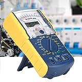 Multímetro digital, KT7310 CC/CA Portátil de doble pantalla Analógico Digital Portátil Resistencia de voltaje Corriente Probadores múltiples Voltímetro Amperímetro Ohmímetro