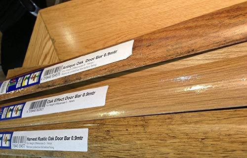 Dural MultiFloor umbral de puerta, 0,9m, rústico con efecto de madera de roble