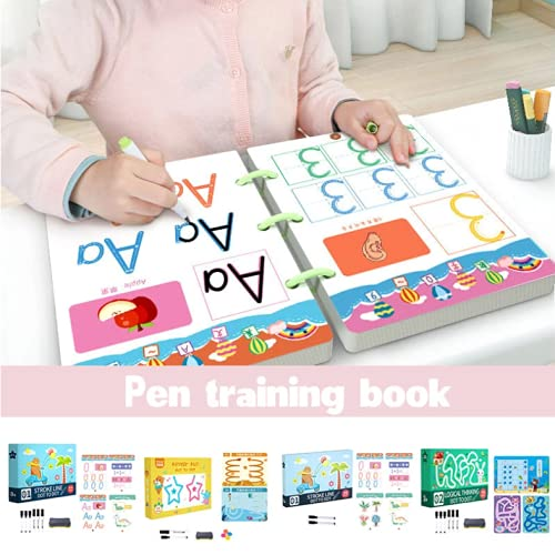 Magical Tracing Workbook for Houston Mall Workboo 3 shop Olds Year