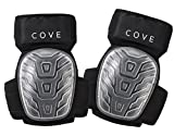 Cove Professional Gel Knee Pads for Work and Gardening- Non Marking Easy to wear All Day Long