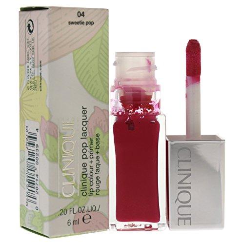 Clinique Pop Rouge Laque/Base Lissante 2 en 1 04 Sweetie Pop 7 ml