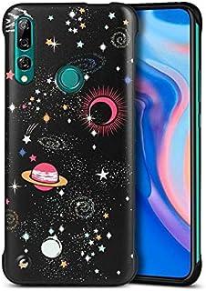 Glitter TPU kristallklart skydd för Huawei Y6 2019/Honor 8A, transparent mjuk färgglad bling flexibel plast hållbart gummi...
