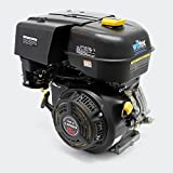 WilTec Motor de Gasolina LIFAN 190 10.5kW (14.3PS) 4 Tiempos Arranque Manual con refrigeración por Aire de 25mm