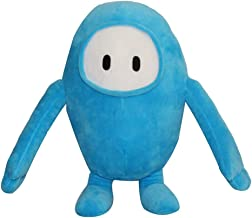 AIXINI Cartoon Fall Guys Ultimate Knockout Plush Doll Stuffed Toy Festival Game Gifts (Blue)