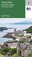 Western Scotland & the Western Isles (OS Road Map)