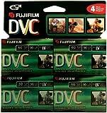 Fuji 4 Pack 60-Minute MiniDV Tapes (DVCM604PK)