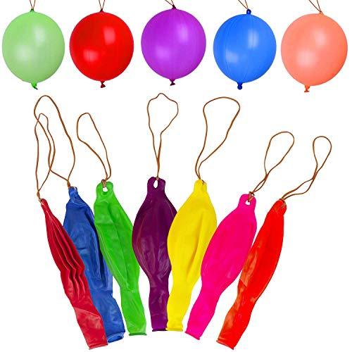 Trimming Shop 12 Inch Grande Látex Globos Boxeo Celebración Cumpleaños, Decoración Fiesta, Boda, Navidad, Aniversario, Eventos - Multi, 40 Pcs