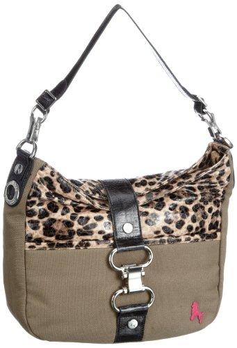 poodlebag® Natural wild Handtaschen Damen Schulter-Taschen im Wilden, exotischen Leo-Look
