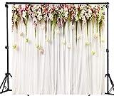 WaW Fondale fotografico fiore muro sfondo matrimonio...