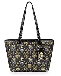 The Haunted Mansion 50th Anniversary Tote by Dooney & Bourke Disney Purse on Amazon