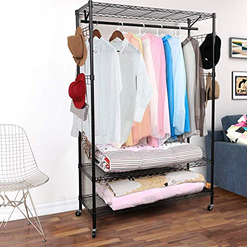 Our #6 Pick is the Homdox 3-Tier Portable Closet
