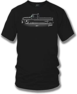 Wicked Metal 1966 Chevy C-10 - Truck T-Shirt - Chevy c-10 t-Shirt, Muscle Car Shirt
